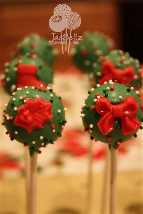 christmas cake pops ideas christmas pinterest