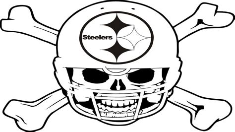 nfl steelers coloring pages pittsburgh steelers coloring pages printable kids coloring
