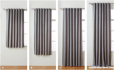 how long should curtains be how to measure curtains