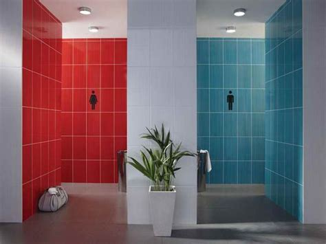 bathroom red tiles creating a stylish bathroom wall tiles design with blue and red http lanewstalk com creating