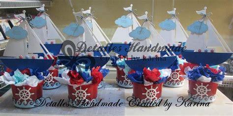 centros de mesa de cumpleaos en pinterest fiestas de apexwallpapers centro de mesa de barquitos marineros para baby shower