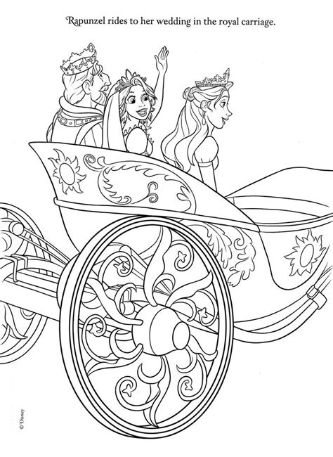 printable disney wedding coloring pages 509 best enredados tangled rapunzel images on