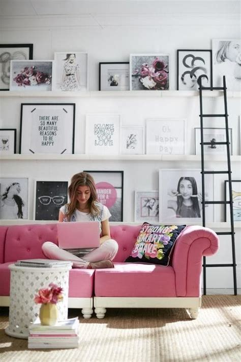 sofa for girls bedroom pink sofa sofas and pink on pinterest