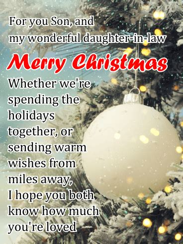 winter wonderland inspired card   special    merry christmas    son