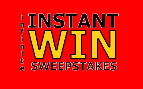 Instant Win Contest - infinite sweepstakes 187 facebook giveaways and instant win