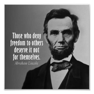 abraham lincoln equality abe lincoln quote freedom equality lose the tude