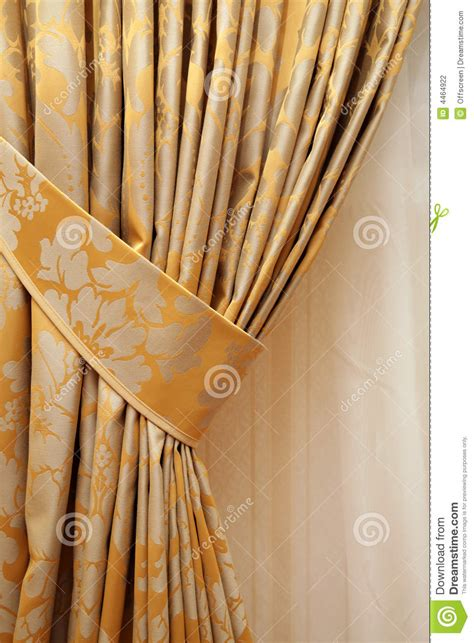 beautiful curtain beautiful curtain stock photography image 4464922