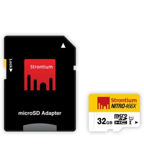 Termurah Microsd Strontium Nitro 16gb Speed 433x 65mb S strontium 32gb 70mb s class10 466x nitro micro sd card uhs 1 memory cards at low