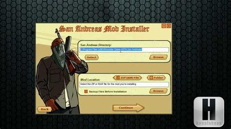 gta san andreas mod installer download full version how to install car mods to gta san andreas pc full hd