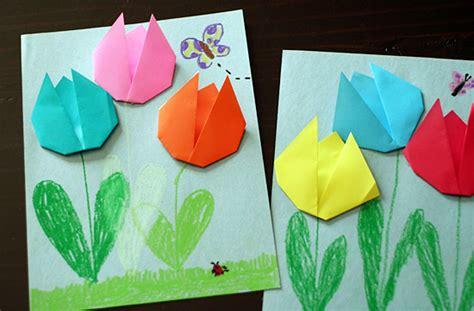 Easy Tulip Origami - simple origami tulips let s explore