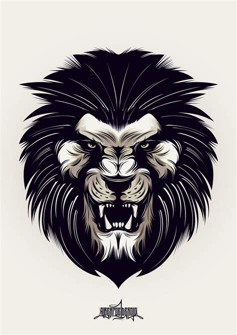 66 best images about lion siluets graphic tatoo on