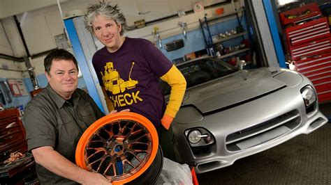 wheeler dealers garage with wheeler dealers mike brewer ed china