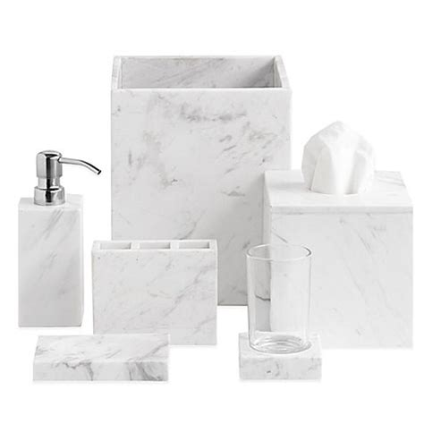 seconds bathroom supplies 15 budget friendly marble bathroom accessories the sweetest digs