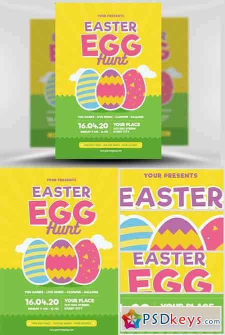 Easter Egg Hunt Map Template