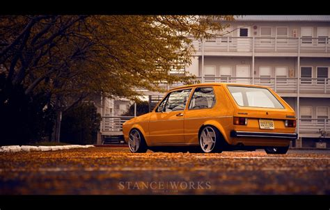 volkswagen rabbit stance seasons change while some things remain the same stance