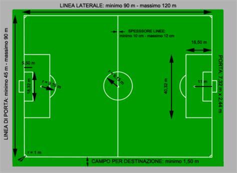 dimensione porta calcio dimensioni co calcio dimensioni ci sportivi
