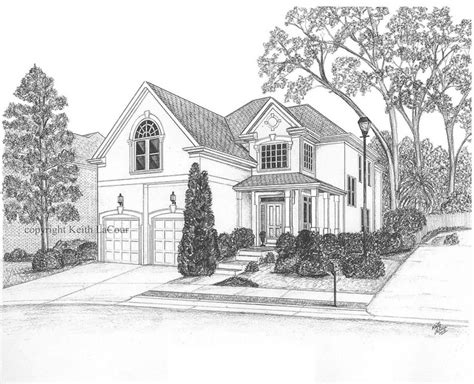 drawing of houses house pencil drawing flickr photo sharing
