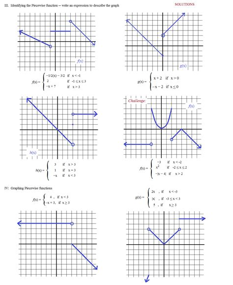 printable math worksheets graphing linear functions piecewise functions worksheet worksheets releaseboard