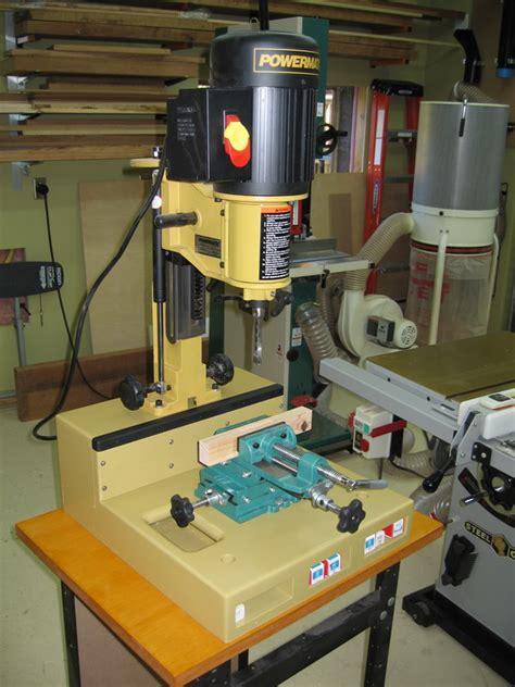 cross  vise  benchtop mortiser router forums