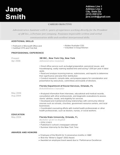 Resume Templates Graphic Design Free Graphic Design Resume Sle Writing Guide Rg