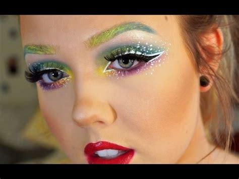 makeup tutorial queer rainbow makeup tutorial get ready with me dallas pride