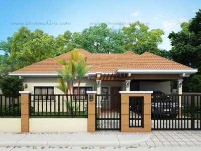 desing home bungalow house plans pinoy eplans
