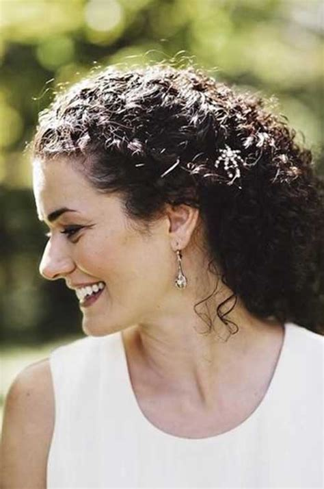 Wedding Hairstyles Naturally Curly Hair by 30 Best Prom Hairstyles For Curly Hair