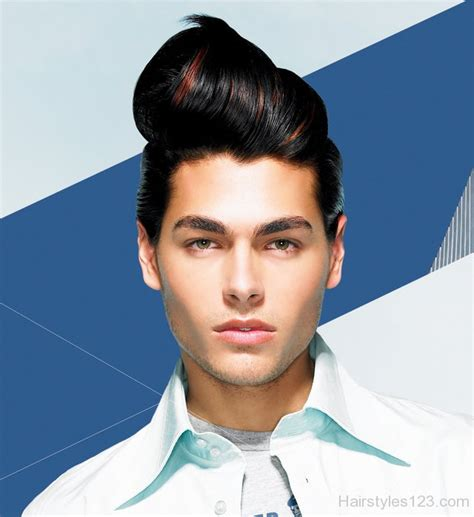 Retro Mens Hairstyles by Retro Hairstyle For Mens