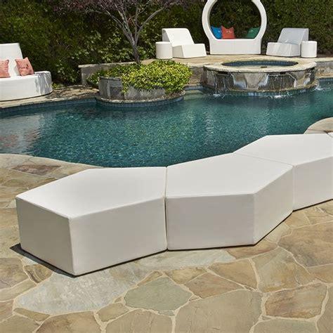 la fete outdoor furniture la fete pentagon modular outdoor chair modern