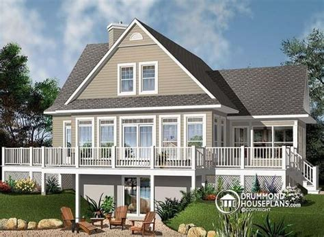 House Plans New Home Designs And Vaulted Ceilings On A Frame House Plans With Walkout Basement