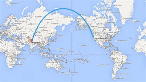 flight route map from india to usa air india confirms sfo delhi flights chris mcginnis