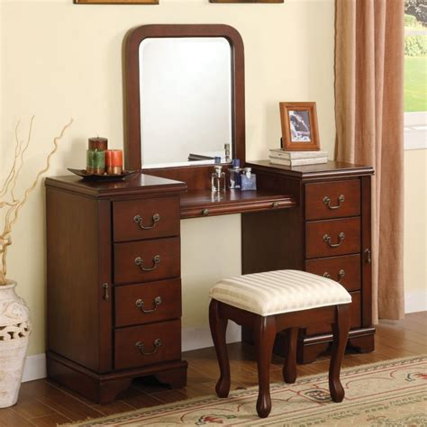 wood bedroom vanity bedroom vanity sets with lighted mirror tags fabulous