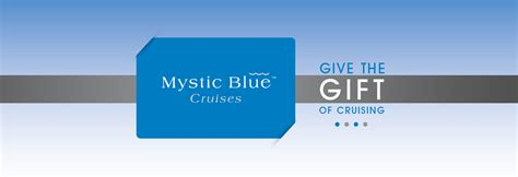 Chicago Gift Cards - mystic blue chicago gift cards mystic blue cruises