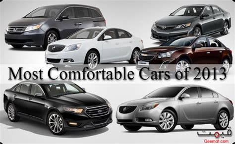 most comfortable car to drive most comfortable cars of 2013