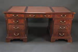 Mahogany Executive Desk by Leather Top Executive Desk Mahogany Leather Top Desk For