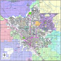 Fresno Zip Code Map by Fresno Digital Vector Maps Download Editable Illustrator