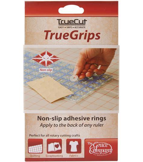 Quilting Ruler Grips by Truecut Non Slip Ruler Grips Transparent 15 Pkg Jo