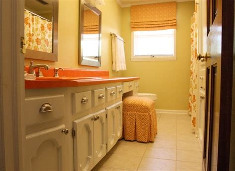 orange bathroom ideas 31 cool orange bathroom design ideas digsdigs