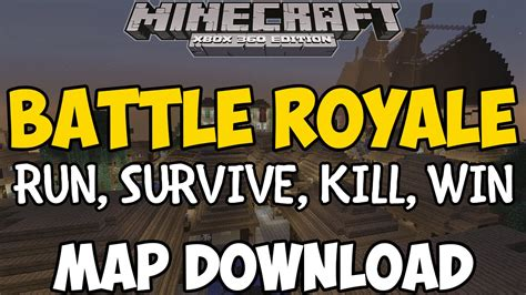 royale xbox 360 minecraft xbox 360 one battle royale map new