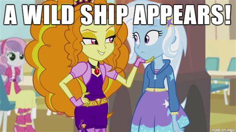 Trixie Meme - equestria girls adagio x trixie meme by krazykari on