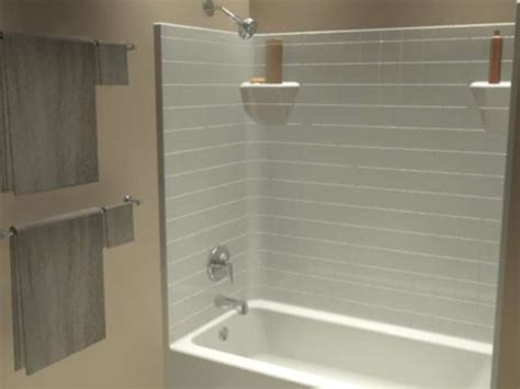One Bathtub Shower Combo by Tt 603374 L Tub Showers