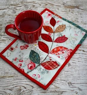Fast Quilting Projects Pot Holders Mug Rugs Pincushions - 124 best leaves images on