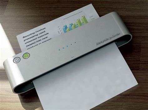 How To Make Paper Gadgets - an ink removing printer that makes paper recycling simple