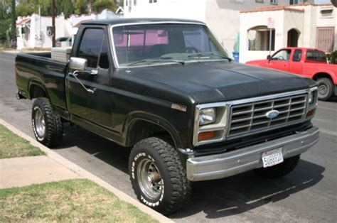 how petrol cars work 1985 ford f series free book repair manuals 1986 ford f150 lariat 4x4 shortbed for sale in los angeles california united states