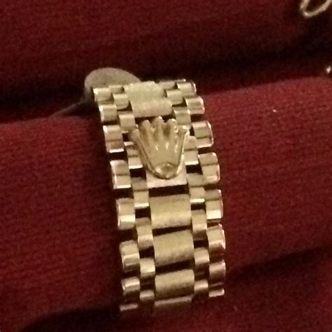 cadena de plata 14 kilates anillo rolex en oro de 14 kilates 6 300 00 en mercado