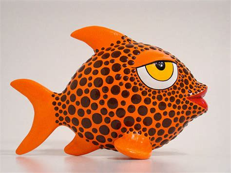 How To Make A Paper Mache Fish - papier mache fish on behance
