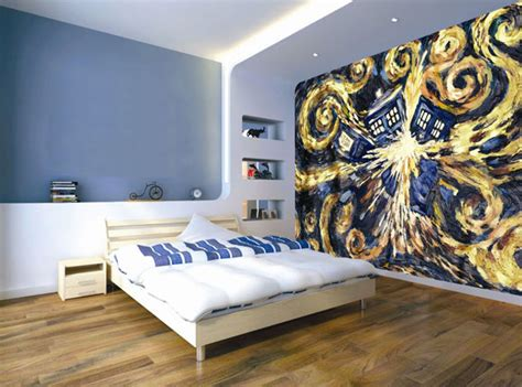 dr who bedroom ideas doctor who ready to put up wallpaper merchandise guide