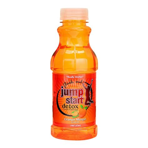 Orange Detox Drink by Jump Start Detox Drink Orange Mango Special