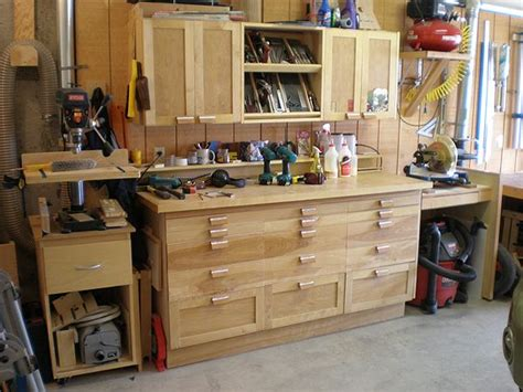 workshop table layout garage woodshop google search woodshop storage ideas