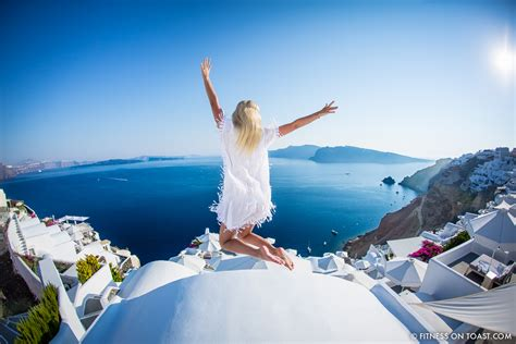 Greece Detox Retreat by Active Escape Santorini Fitness On Toast